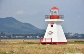 Phare de Carleton, pointe Tracadigash, Gaspésie (Canada)