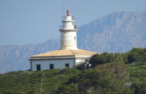 Phare IIe d'Alcanada (Majorque, Espagne)