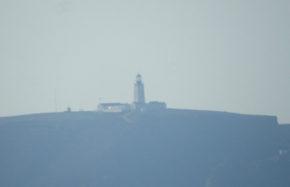 Phare des Berlengas, vue depuis Peniche (Portugal)